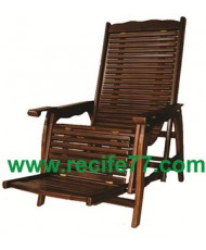 Rocking chair teak