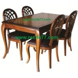 Dining Table set BGO curved leg
