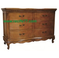 Chest Bella 6 Drawer