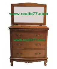 Chest Bella 3 Drawer with mirror