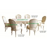 Dining Table set Sandstone style